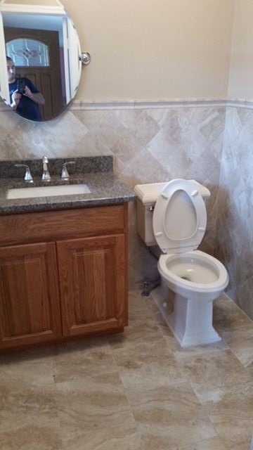 custom toilets and sink